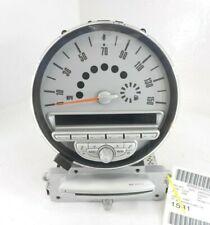 07-10 Mini Cooper CD Player Receiver W/ Speedometer Cluster OEM W/O Navi 157K