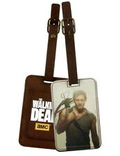 AMC The Walking Dead Daryl Dixon Luggage Bag Tag Official Licensed Crowded Coop