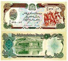 Afghanistan Billet 500 Afghanis P60 CHEVAUX UNC Neuf