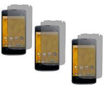3 Premium Anti Glare Custom Screen Protector Guard for  LG Google Nexus 4 E960