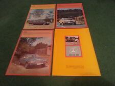 Dec 1976 MERCEDES BENZ 200 230 250 SALOON W123 UK 30pg BROCHURE + 3 x FOLDERS