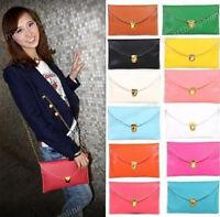 Rare Womens Envelope Clutch Chain Purse Lady Handbag Tote Shoulder Bag