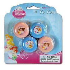 Licensed Disney Princess 4pk Mini Yo Yo #27209PRN