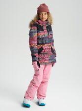 Burton Aubrey Parka Snowboard Jacket - Youth Girls - Large, Technicat Dream