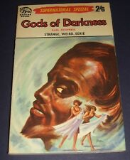 Gods of Darkness by Karl Zeigfreid 1962 Badger Books UK Vintage Paperback Scarce