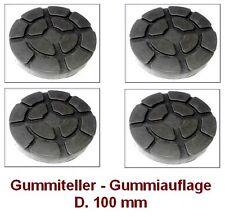 Gummiteller für Hebebühne D. 100 mm - Gummiauflagen - Auflageteller RAVAGLIOLI