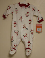 New! Just One You by Carters Sleep & Play Set Holiday Santa & Penguins