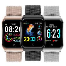 Smartwatch F9 Puls Uhr IP68 Wasserdicht IPS Sport Fitness Smartband Tracker iOS