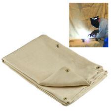 Welding Blanket 6' x 8' Fire Flame Retardent Fiberglass Shield Brass Grommets