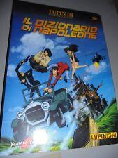 DVD LUPIN III EL 3 º PELÍCULA COLLECTION N°27 EL DICCIONARIO DE NAPOLEÓN