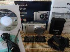Panasonic LUMIX DMC-TZ10-12.1MP-12x Opt.Leica Zoom-GPS-HD Video Silber