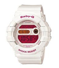 Casio Baby-G * BGD140-7B Dual Illum Gloss White w/Pink Women COD PayPal
