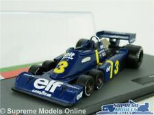 TYRRELL P34 MODEL CAR 1:43 SCALE RACING FORMULA ONE 1 IXO JODE SCHECKTER 1976 K8