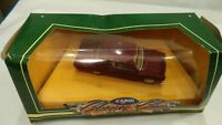 CORGI CLASSIC CARS D708/2 FORD CORTINA MK I 1963 1498CC DARK RED DIECAST CAR TOY