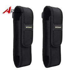 2X Nylon Holster Holder Belt Pouch Case Bag for Tactical Flashlight Torch