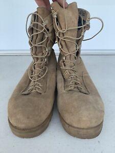 BELLEVILLE 03-D-0322 Desert Tan Gore-Tex Military Combat Boots Men's Size 11.5 W