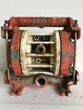 Used WILDEN P2 Metal 1 Inch DIAPHRAGM PUMP
