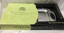 "WILTON ARMETALE ICTUS 18"" RECTANGULAR TRAY PLATTER IN BOX MEXICO SUSAN WINGET"