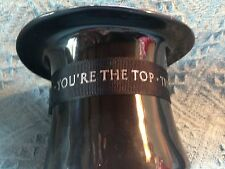 "NOS AVON PRESIDENT'S CLUB ""YOU'RE THE TOP - TRIBUTE 1991"" FIGURINE"