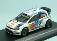 Model Car Rally Scale 1:43 VW Polo R WRC diecast Rallye vehicles road