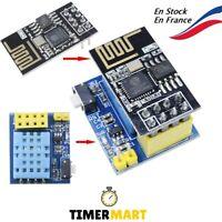 ESP-01S + DHT11 Module WiFi capteur d'humidité et température ESP8266 TimerMart