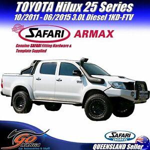 SAFARI 4X4 SS122HP SNORKEL for Toyota Hilux 25 Ser 10/2011-06/15 3.0L 1KD-FTV SA