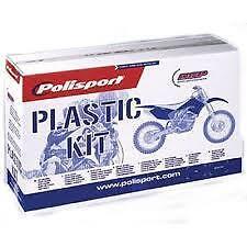 kit plastique blanc  POLISPORT KAWASAKI KX-F  KX 450 F 2009-2011
