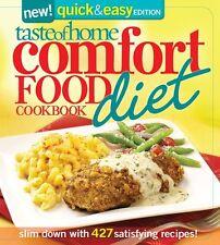 Taste of Home Comfort Food Diet Cookbook: New Quick & Easy Favorites: slim down