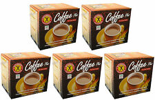 5 x Weight Loss Diet Instant Coffee Plus Ginseng NatureGift 1 box/10 sachets