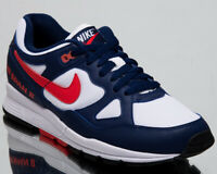 Nike Air Span II Men's New Blue Red White Casual Lifestyle Sneakers AH8047-404