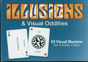 Playing Cards Deck Optical Illusions & Visual Oddities Teaching Tool US Games