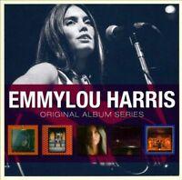 EMMYLOU HARRIS 5CD NEW Pieces Sky/Elite Hotel/Luxury Liner/Quarter/Blue Kentucky