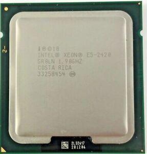 USED Intel E5-2420 Cpu 6 Core 12 Threads 1.90 GHz 15 MB Cache 95W TDP SR0LN