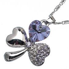 5.10ct Corte Corazón Estilo forma Amatista violeta Circonita Cúbica 18ct