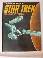 STAR TREK POP-UP: Trillions of Trilligs 1977 1st American Edition VINTAGE BOOK