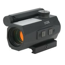 Ccop Usa 1x20 Solar Red Dot Sight 2 Moa Low Profile Picatinny Mount Rd-22001