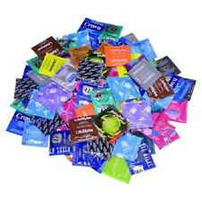 50 Durex, Trojan,  Lifestyles, Crown, One, Kimono, & More Condoms Variety Pack