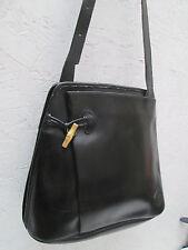 -Authentique   sac à main  LONGCHAMP  cuir   BEG   vintage bag