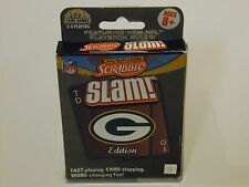 Green Bay Packers NFL Edition Scrabble Slam Card Game 2011 NEW