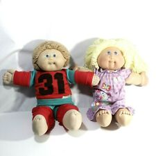 Vintage Cabbage Patch Kids Lot two Dolls
