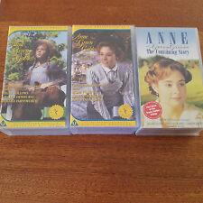 Anne Of Green Gables Trilogy VHS Tape Rare