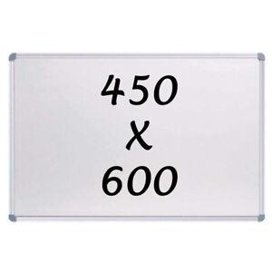 New Magnetic Whiteboard 450mm x 600mm Writing Board Commercial 10y Warranty
