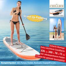 SUP Stand Up Paddle Surf Board aufblasbar inkl. Paddel & Pumpe Paddling 300 cm