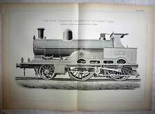 1893 Compound Passenger Locomotive, Teutonic Type Mccci(1301)