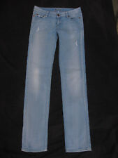 SPORTSGIRL Women's Distressed Faded 'THE SUPERSLEEK' Jeans - Size 9