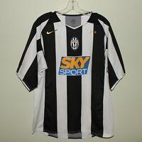 vintage JUVENTUS 2004-05 home shirt Nike maglia camisa trikot maillot Sky Sport