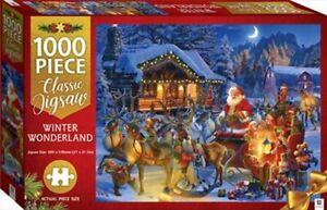 1000 Piece Classic Christmas Jigsaw Puzzle - Winter Wonderland