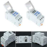 AC 220-240V Digital DIN Programmable Weekly Rail Timer Time Relay Switch 17 time
