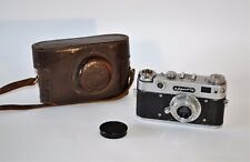 """30% OFF!!! RARE RUSSIAN USSR """"ZORKI 5"""" camera + collapsible INDUSTAR-50 lens"""