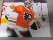 Michal Neuvirth Philadelphia Flyers Signed 11x14 Photo COA